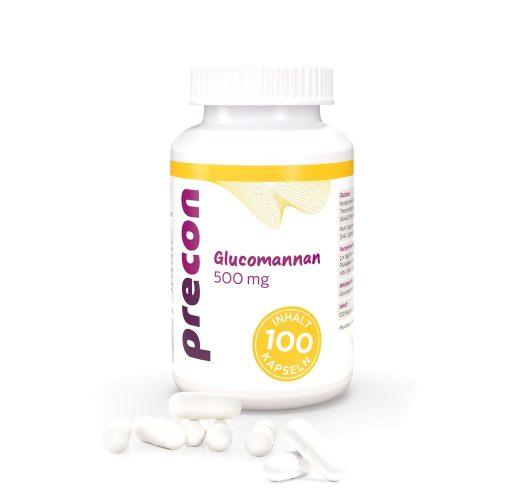 Glucomannan 500 capsules