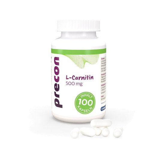 L-carnitine 500 capsules